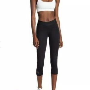 Adidas Womens Alphaskin Leggings Cropped XL Black